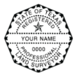 TLS-4141 - TLS-4141 Texas Land Surveyor Stamp