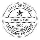 TRLA-4141 - TRLA-4141 Texas Landscape Architect Stamp